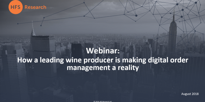 Webinar: How a Leading Wine Producer is Making Digital Order Management a Reality.